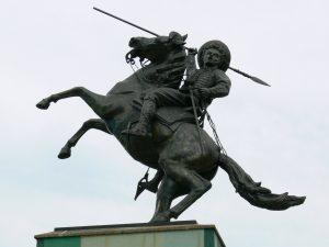 Estatua de José Antonio Páez en San Fernando de Apure