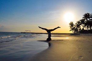 Andreína en equilibrio cuerpo y mente