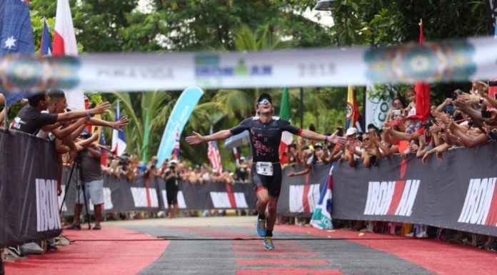 """The Man Whith Halo Man"" histórico en Ironman 70.3 Costa Rica"