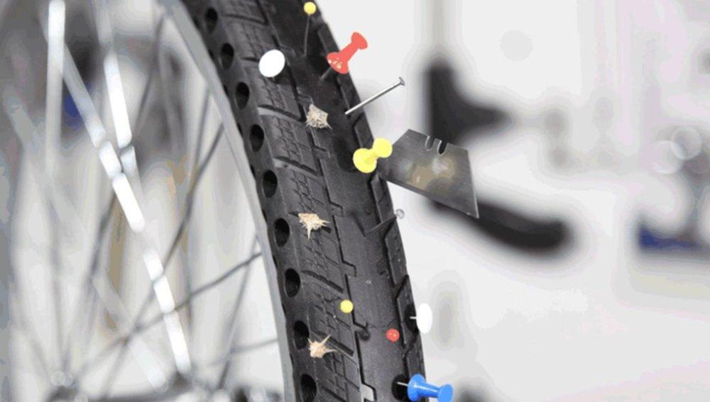 Los neumáticos para bici sin aire que ni se hinchan ni se pinchan