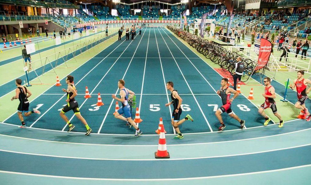 Primer triatlón indoor oficial de la historia