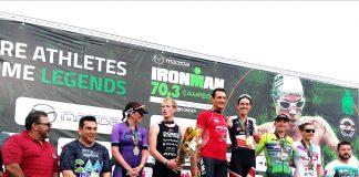 Ironman Campeche podios