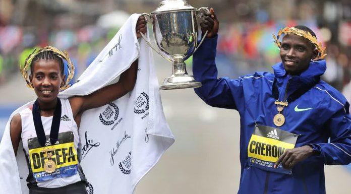 maratón de Boston campeones