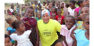 La historia de Sebastián Armenault El Papá Noel de los maratones