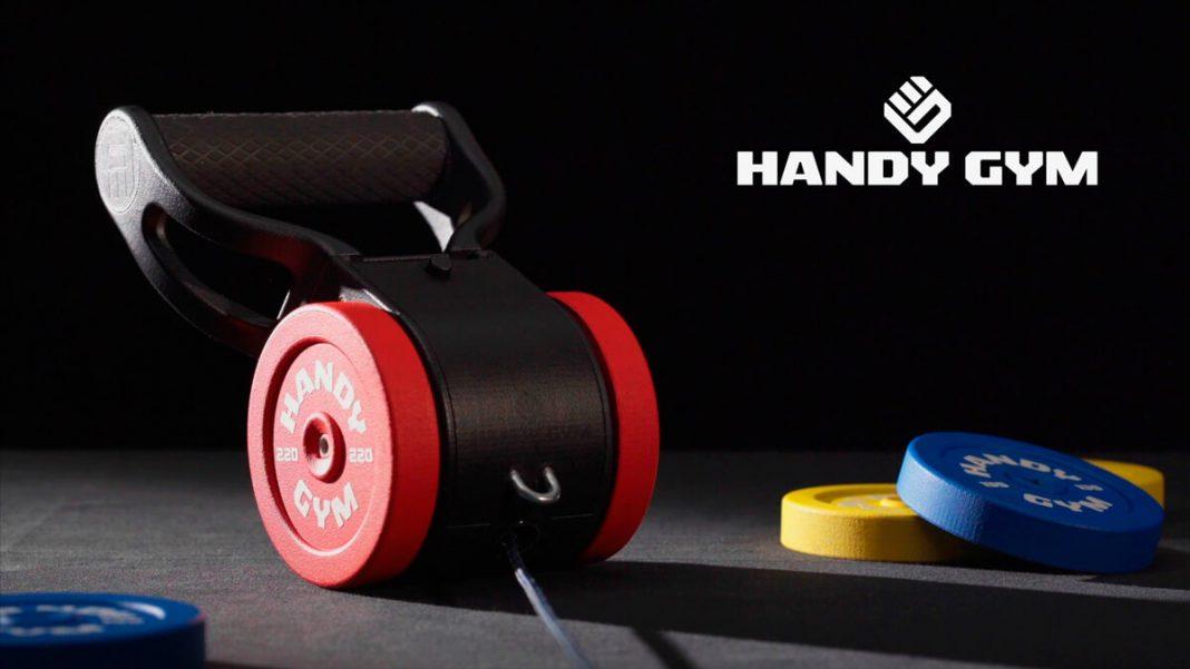 Handy Gym el gimnasio más pequeño del mundo