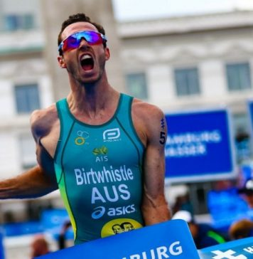 Jacob Birtwhistle ganador en el triatlón de Hamburgo