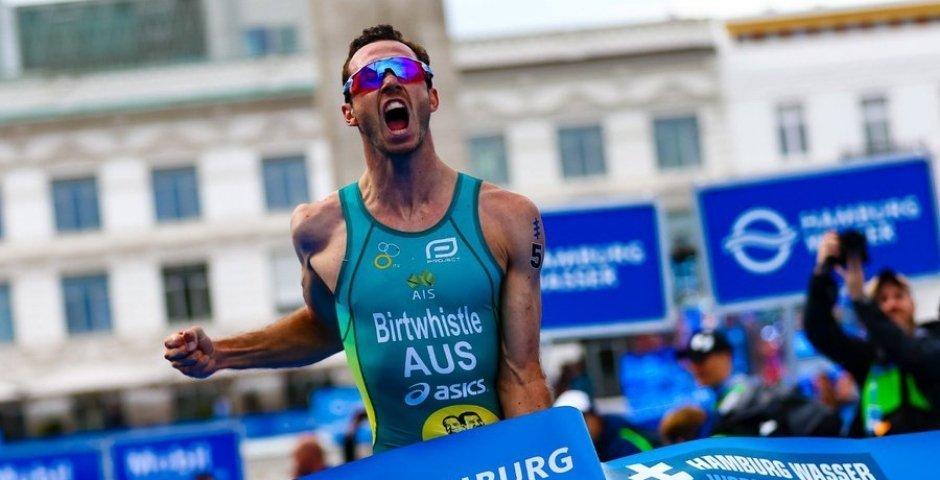 Jacob Birtwhistle ganador en el triatlón de Hamburgo