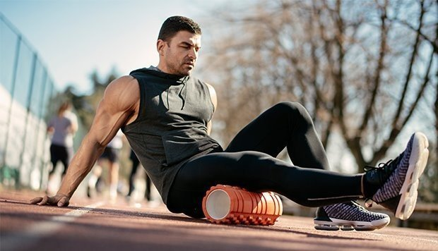 Foam roller para runners uso y beneficios