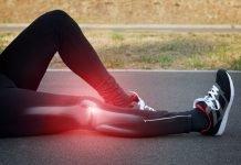 Cuidado con una esguince de rodilla