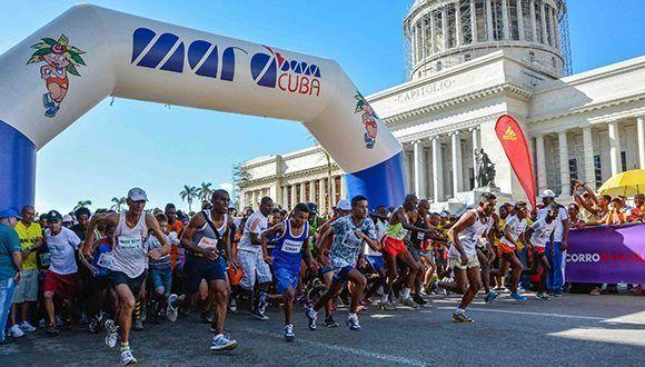 Maratón de La Habana 2019 Contará con 900 corredores de 59 países