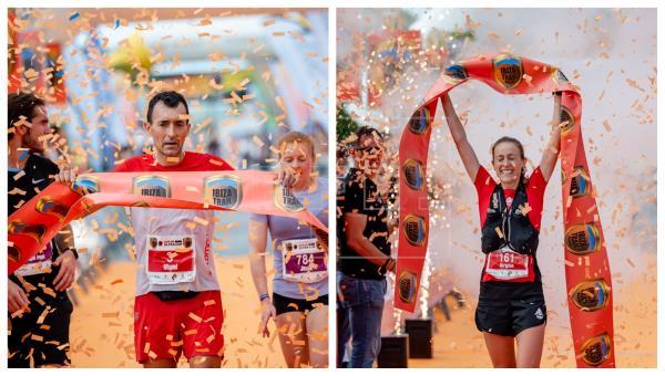 Ibiza Trail Maraton Miguel Heras y Virginia Pérez fueron los conquistadores
