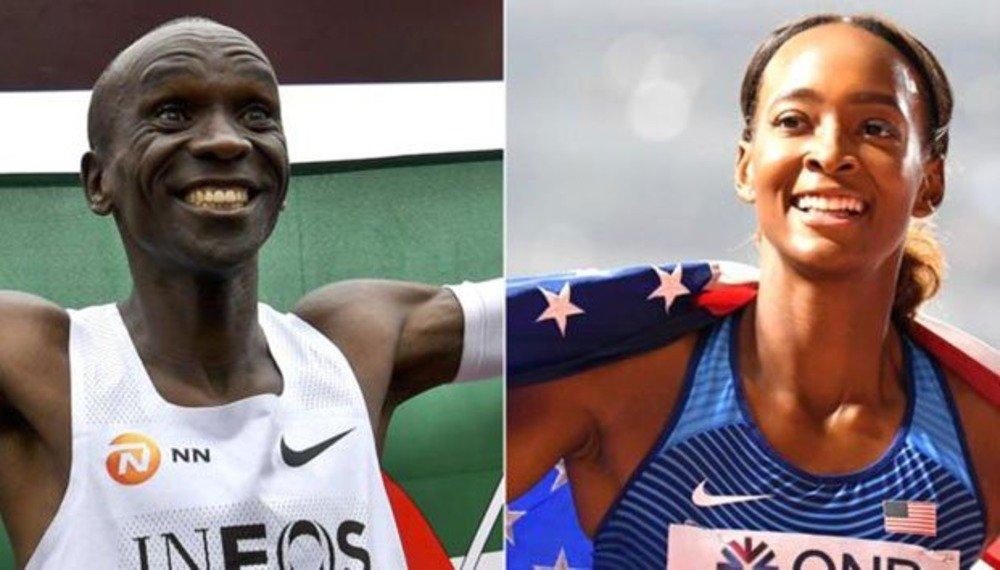 Los Atletas del año 2019 son Kipchoge y Dalilah Muhammad