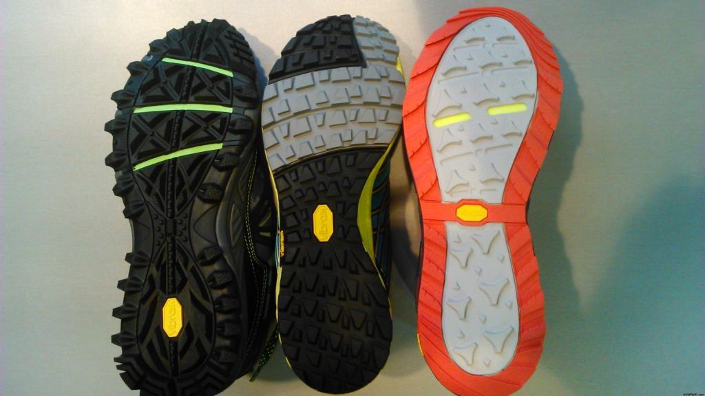 Conoce los tipos de suelas que hay para zapatillas de Trail