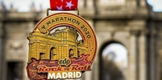 La Medalla de Maratón de Madrid 2020 ha sido develada