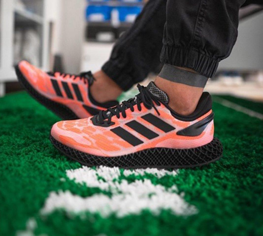 Adidas 4D Run 1.0 las zapatillas con una mediasuela impresa en 3D