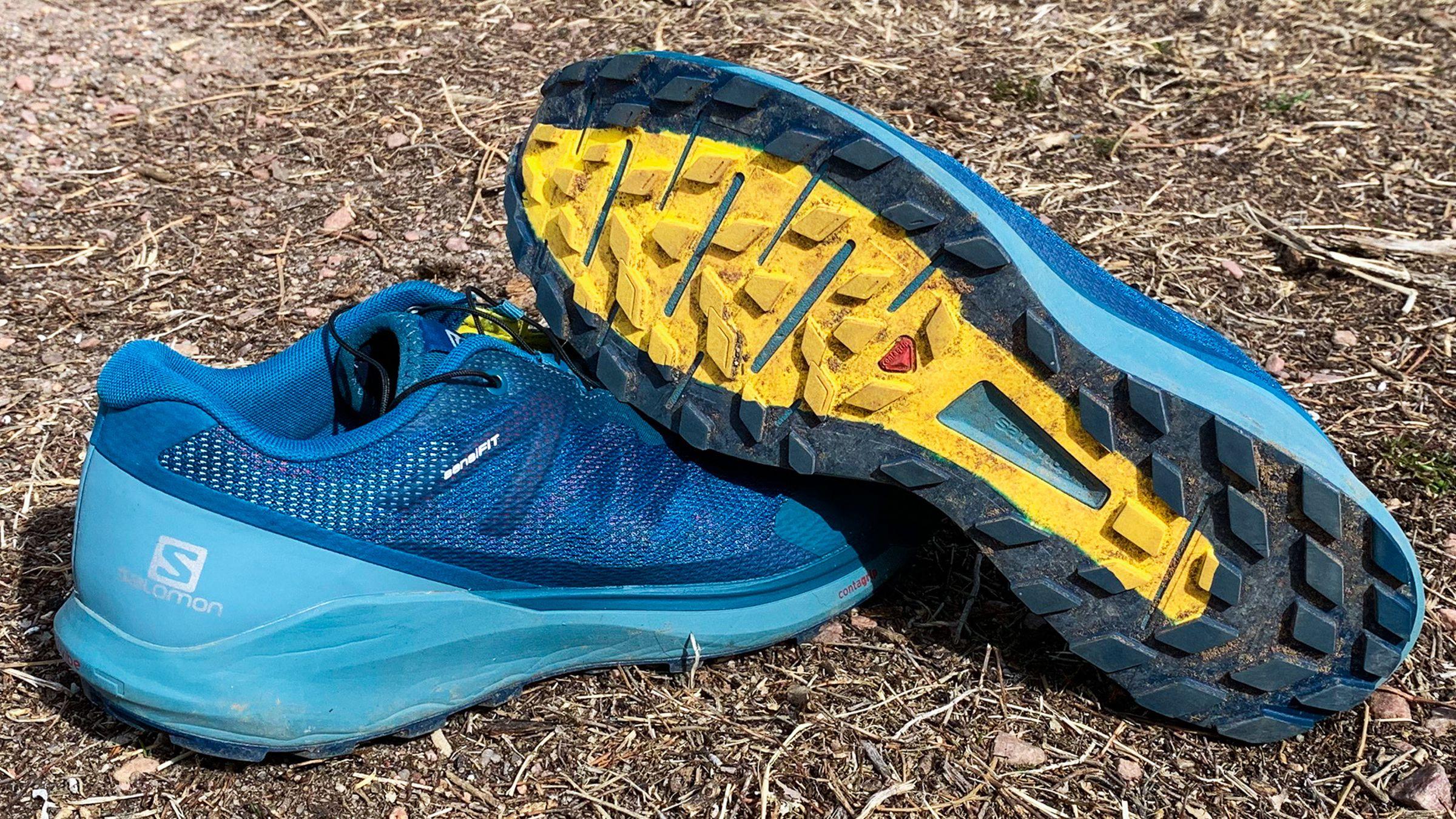 Salomon Sense Ride 3 la comodidad de Trail Running