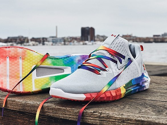Adidas y Under Armour homenajean al Orgullo LGTB