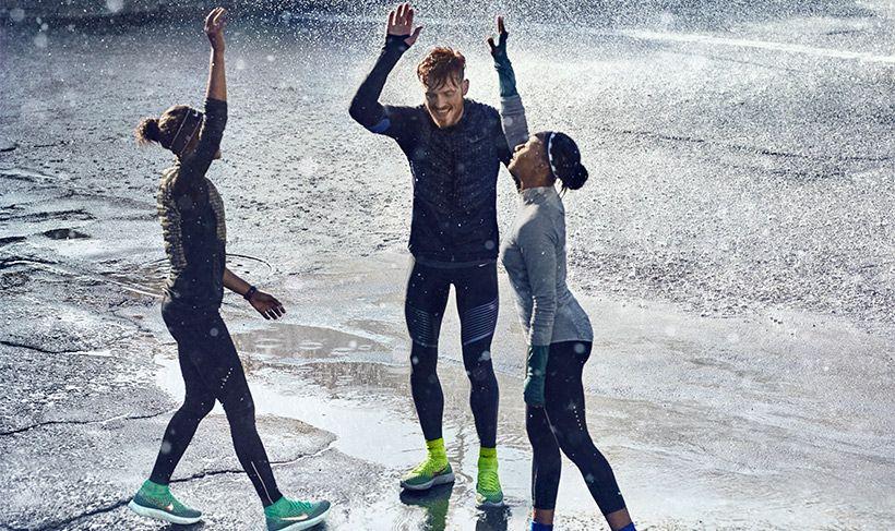 Correr bajo la lluvia, acá te damos algunos consejos de como hacerlo