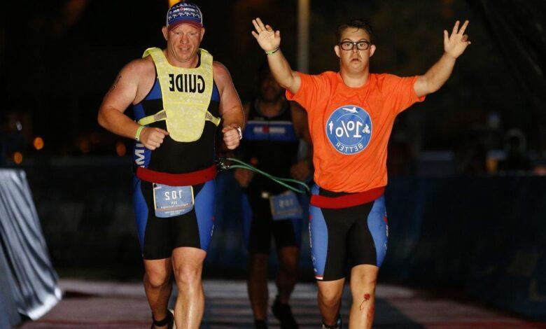 Primer triatleta con síndrome de Down en completar un IRONMAN