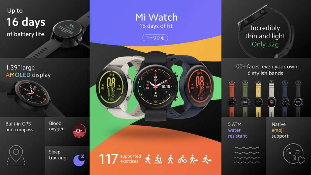 Xiaomi Mi Watch Global, el nuevo smartwatch de la casa China