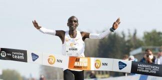 Eliud Kipchoge en el NN Mission Marathon