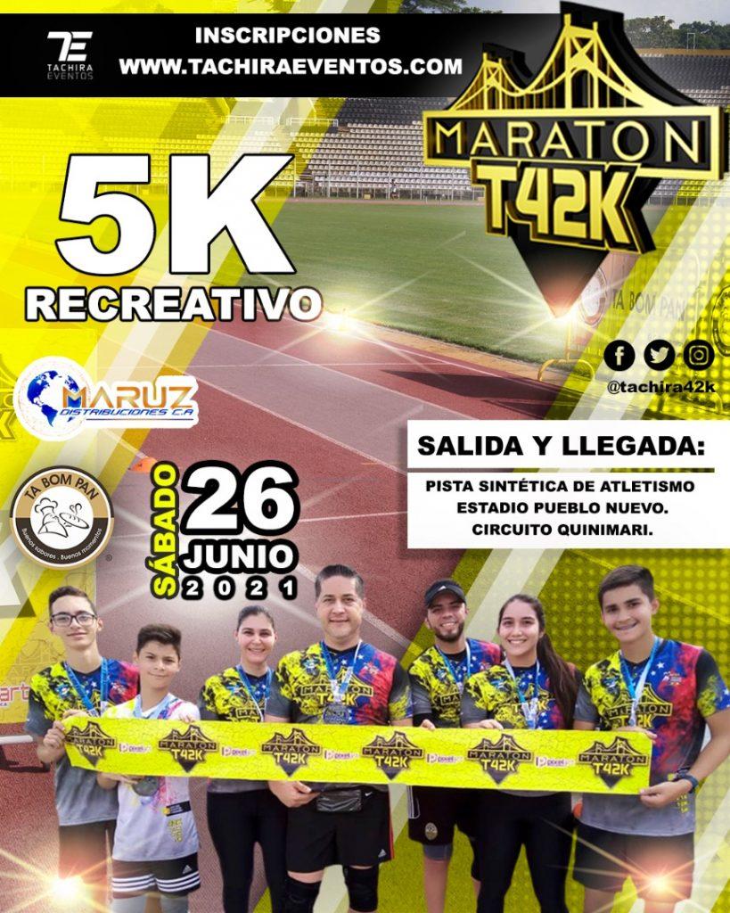 la Maratón del Táchira