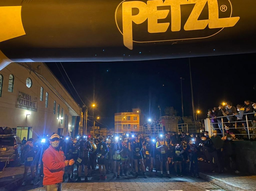 Peztl Trail Plus. Salida de los 50km