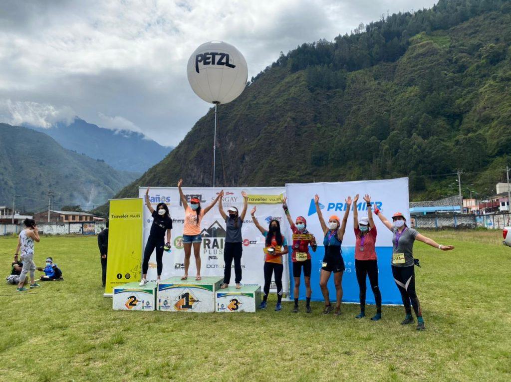 Petzl Trail Plus . Premiación de los 50km Femenino