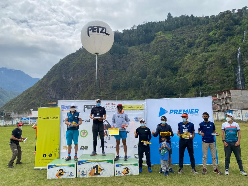 Petzl Trail Plus . Premiación de los 50km Masculino