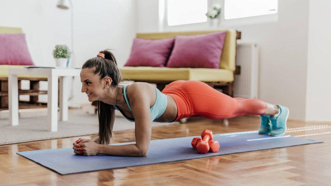 plancha abdominal ejercicio para el core