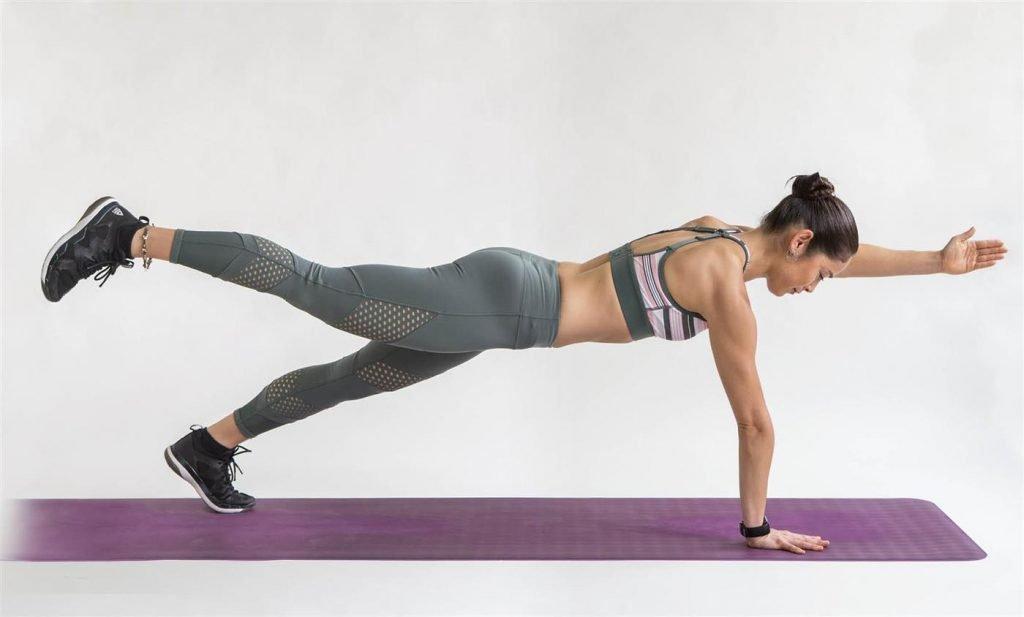 plancha abdominal sin apoyo