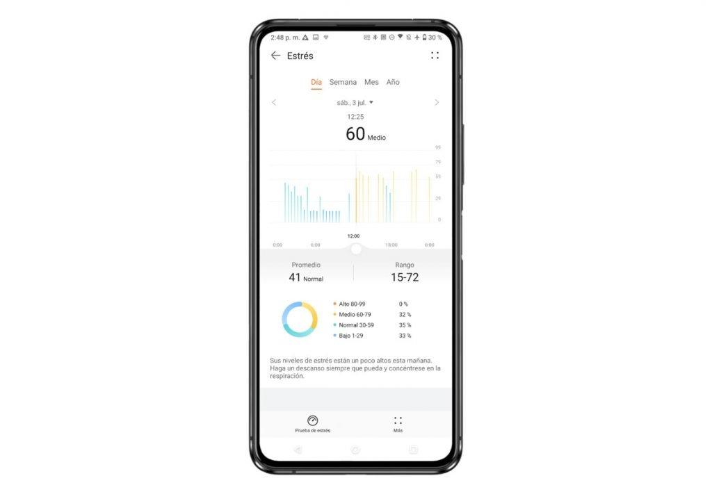 Huawei Watch 3 Estres