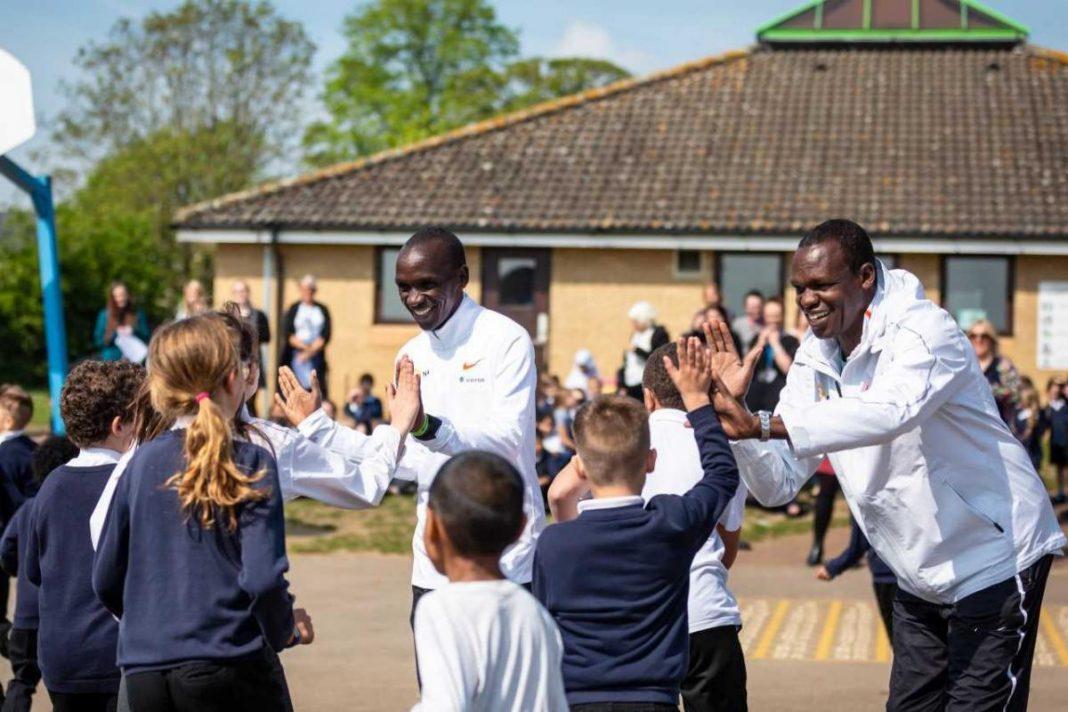 Kipchoge lanza su propia fundación centralizada en la educación y el medio ambiente